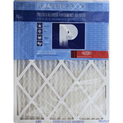 Purafilter 2000 Air Filter, Pollen & Allergen Performance, 20 x 25 x 1
