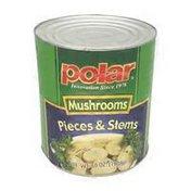 MW Polar Pieces & Stems Mushrooms