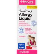 TopCare Allergy Liquid, Children's, Cherry Flavor