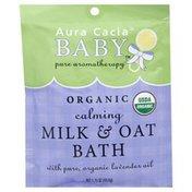 Aura Cacia Milk & Oat Bath, Calming, Organic