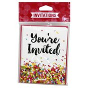 Party Creations Invitations, Sprinkles