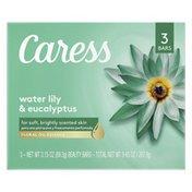Caress Beauty Bar Soap Water Lily & Eucalyptus