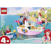 LEGO Building Toy, Ariel's Celebration Boat, 114 Pieces, 4+