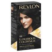 Luxurious Colorsilk Permanent Haircolor, Black 10N
