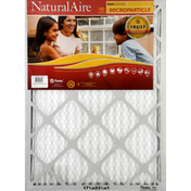 NaturalAire Air Cleaning Filter, Microparticle, 17-1/2 x 23-1/2 x 1