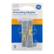 GE Vinyl 3-Prong Grounding Adapter