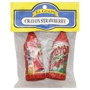 El Guapo Crayons, Strawberry