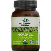 ORGANIC INDIA Moringa, Vegetarian Caps