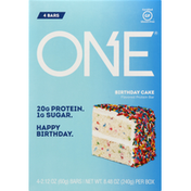 One Protein Bar, Birthday Cake Flavored