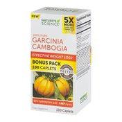 Nature's Science 100% Pure Garcinia Cambogia Caplets - 100 CT