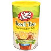 Shurfine Natural Lemon Flavor Sugar Sweetened Iced Tea Mix