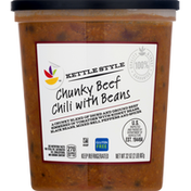 Ahold Chili with Beans, Chunky Beef, Kettle Style