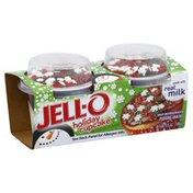 Jell-O Pudding Snacks, Holiday Cupcake