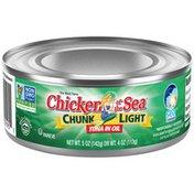Chicken of the Sea Light Tuna in Oil
