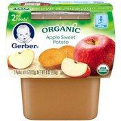 Gerber Organic 2 Nd Foods 2nd Foods Organic Apple Sweet Potato Organic Purees Vegetable