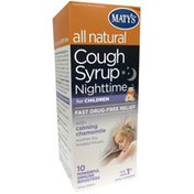 Maty's Nighttime Cough Syrup With Calming Chamomile Dietary Supplement