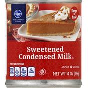 Kroger Condensed Milk, Sweetened