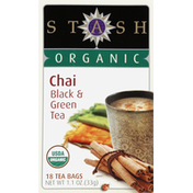 Stash Tea Organic Chai Black & Green Tea