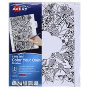 Avery Dividers, Color Your Own