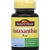 Nature Made Astaxanthin, 4 mg, Softgels