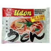 Myojo Udon, Hot & Sour Flavor