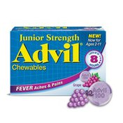 Advil Junior Pain Reliever and Fever Reducer, Junior Pain Reliever and Fever Reducer