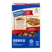 Perdue Short Cuts Chicken Burgers Classic - 4 CT