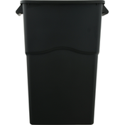 First Street Waste Can, Slim MO, 23 Gallon, Gray