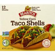 Bearitos Organic Yellow Corn Taco Shells