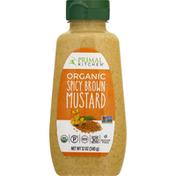 Primal Kitchen Mustard, Organic, Spicy Brown