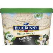 Blue Bunny Frozen Yogurt, Vanilla Bean