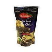Kikabon Chia Seed Sea Salt Pita Chips
