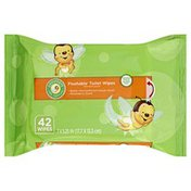 Comforts Wipes, Toilet, Flushable, Melonberry Scent