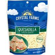 Crystal Farms Shredded Quesadilla Cheese
