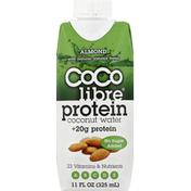 Coco Libre Organic Coconut Water, Protein, Almond