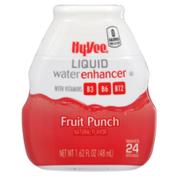 Hy-Vee Fruit Punch Liquid Water Enhancer