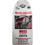 Buffaloe Milling Grits, Moss White, Water Ground Style