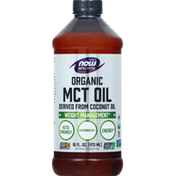 NOW Sports MCT Oil, Organic