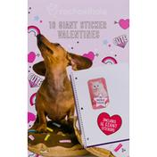 rachaelhale Valentines, Giant Sticker