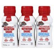 Market Pantry Nutrition Shake, Original, Milk Chocolate