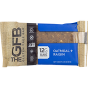 The GFB Gluten Free Bar Oatmeal Raisin