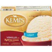 Kemps Vanilla Flavored Light Ice Cream