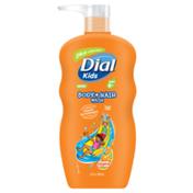 Dial Kids Body + Hair Wash, Orange Splash