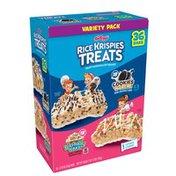 Kellogg's Rice Krispies Treats Crispy Marshmallow Squares Variety Pack