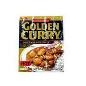 S&B Golden Curry Sauce With Vegetables, Hot