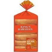 King's Hawaiian Original Hawaiian Sweet Hot Dog Buns