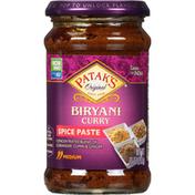 Patak's Spice Paste, Biryani Curry, Medium