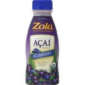 Zola Acai Juice, Organic, with Blueberry