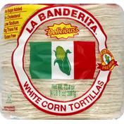 La Banderita Tortillas, White Corn