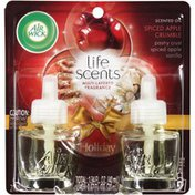 Air Wick Life Scents Scented Oil Spiced Apple Crumble Air Freshener Refills